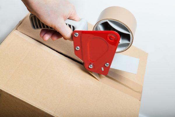 梱包資材、配送、支払方法の選択